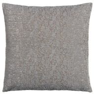 Tiffany Textured Chenille Cushion - Silver