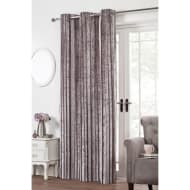 Kendall Stripe Velvet Fully Lined Panel - 54 x 86