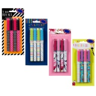 Fashion Ball Point Pens 4pk