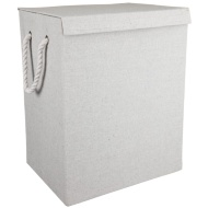Foldable Laundry Basket - Grey