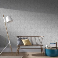 Graham & Brown Devore Wallpaper - Silver