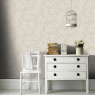 Graham & Brown Twist Wallpaper - Gold