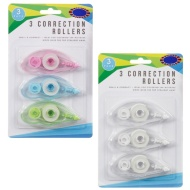 Correction Rollers 3pk