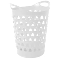 Tall Flexi Laundry Basket - White