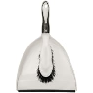 Premium Dustpan & Brush - Black