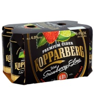Kopparberg Strawberry & Lime Cider 6 x 330ml