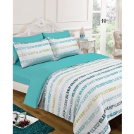 Sleep Text Complete Bed Set - Single