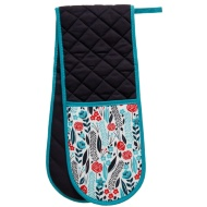 George Wilkinson Contemporary Double Oven Glove - Ditsy