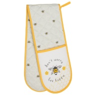 Karina Bailey Contemporary Double Oven Glove - Bee Happy