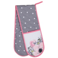 Karina Bailey Contemporary Double Oven Glove - Floral