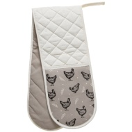 George Wilkinson Traditional Double Oven Glove - Chickens