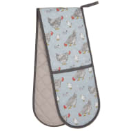 Karina Bailey Traditional Double Oven Glove - Chickens