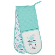 Karina Bailey Traditional Double Oven Glove - Tea Time