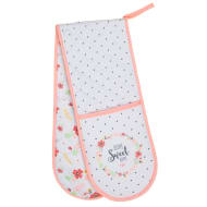 Karina Bailey Traditional Double Oven Glove - Home Sweet Home