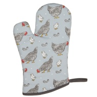 Karina Bailey Traditional Print Gauntlet - Chickens