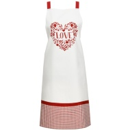 George Wilkinson Traditional Print Apron - Love Heart