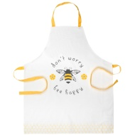 George Wilkinson Traditional Print Apron - Bee Happy