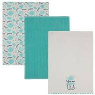 Karina Bailey Traditional Tea Towels 3pk - Tea Time