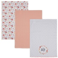 Karina Bailey Traditional Tea Towels 3pk - Home Sweet Home