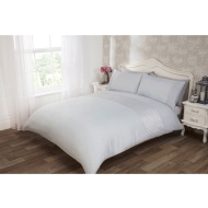 Lucia Satin Pintuck Duvet Set Double