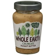 Whole Earth Crunchy Peanut Butter 340g