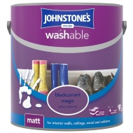 Johnstone's Washable Matt Paint - Blackcurrant Magic 2.5L