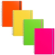 B5 PP Neon Notebook