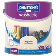 Johnstone's Washable Matt Paint - Magnolia 2.5L