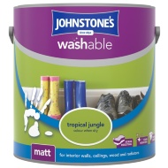 Johnstone's Washable Matt Paint - Tropical Jungle 2.5L