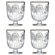 Drinking Goblets 4pk - Clear