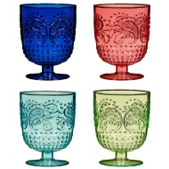 Drinking Goblets 4pk - Multi Colour