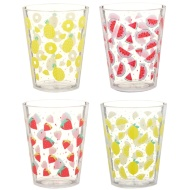 Printed Tumblers 4pk - Fruit