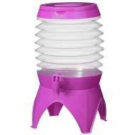 Collapsible Drinks Dispenser 5.4L - Purple