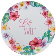 Large Serving Platter - Life Is Sweet
