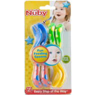 Nuby Fork & Spoon Set 4pc