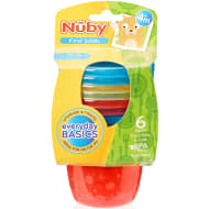 Nuby Food Pots with Lids 6pk