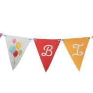 Paper Bunting 6m - Balloons