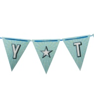 Paper Bunting 6m - Party Time