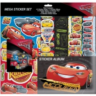 Cars Mega Sticker Album Set