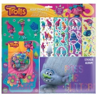 Trolls Mega Sticker Album Set