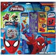 Spider-Man Mega Sticker Album Set