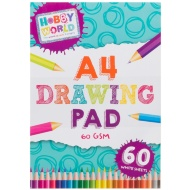 Hobby World A4 Drawing Pad
