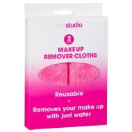 Make-Up Remover Cloths 2pk - Pink