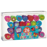 Hobby World Funky Stamps 26pk