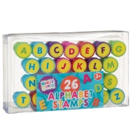 Hobby World Alphabet Stamps 26pk
