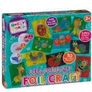 Hobby World Peel, Rub & Lift Foil Craft Set