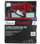 Harris Premier Paint Pad Set 6pc