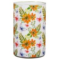 Large Spring Candle - Spring Flowers