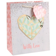 Valentine's Day Gift Bag - With Love