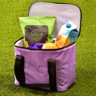 Plain Cooler Bag - Purple